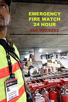Georgia Firewatch 866 989 5253 Emergency Security Guard